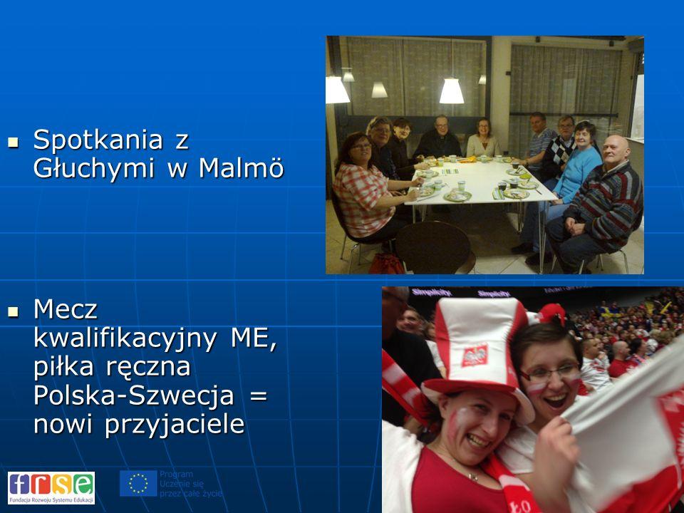 Spotkania z Głuchymi w Malmö