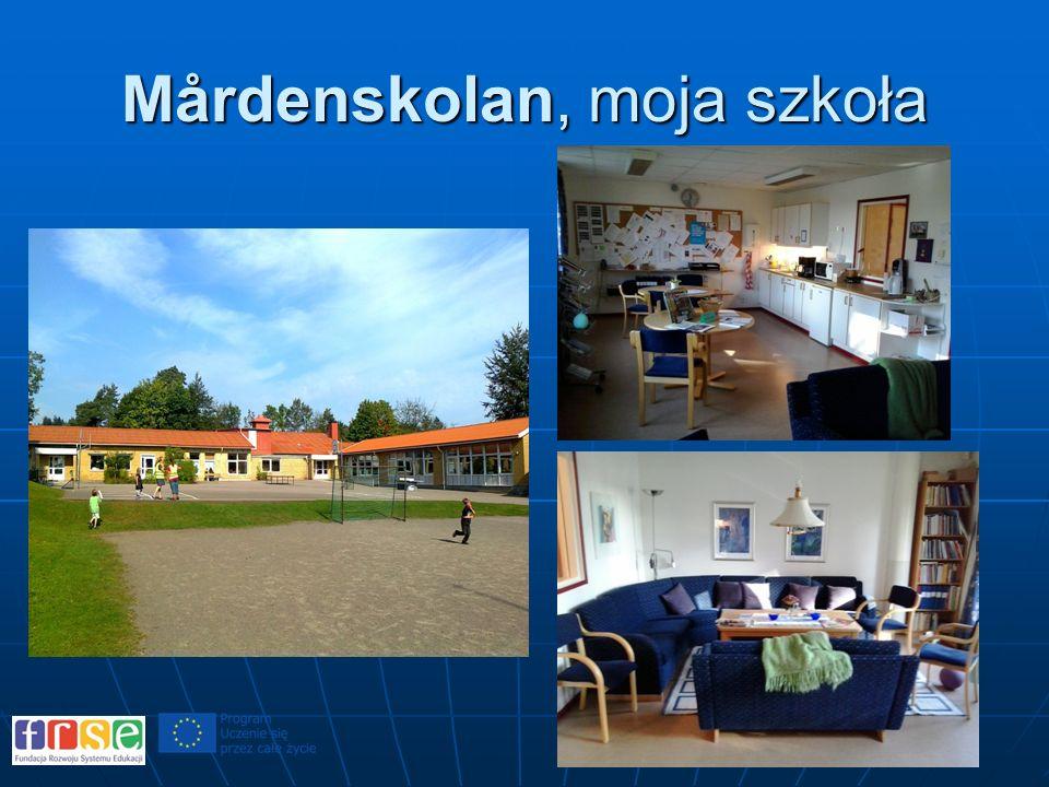 Mårdenskolan, moja szkoła