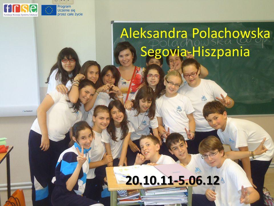 Aleksandra Polachowska Segovia-Hiszpania