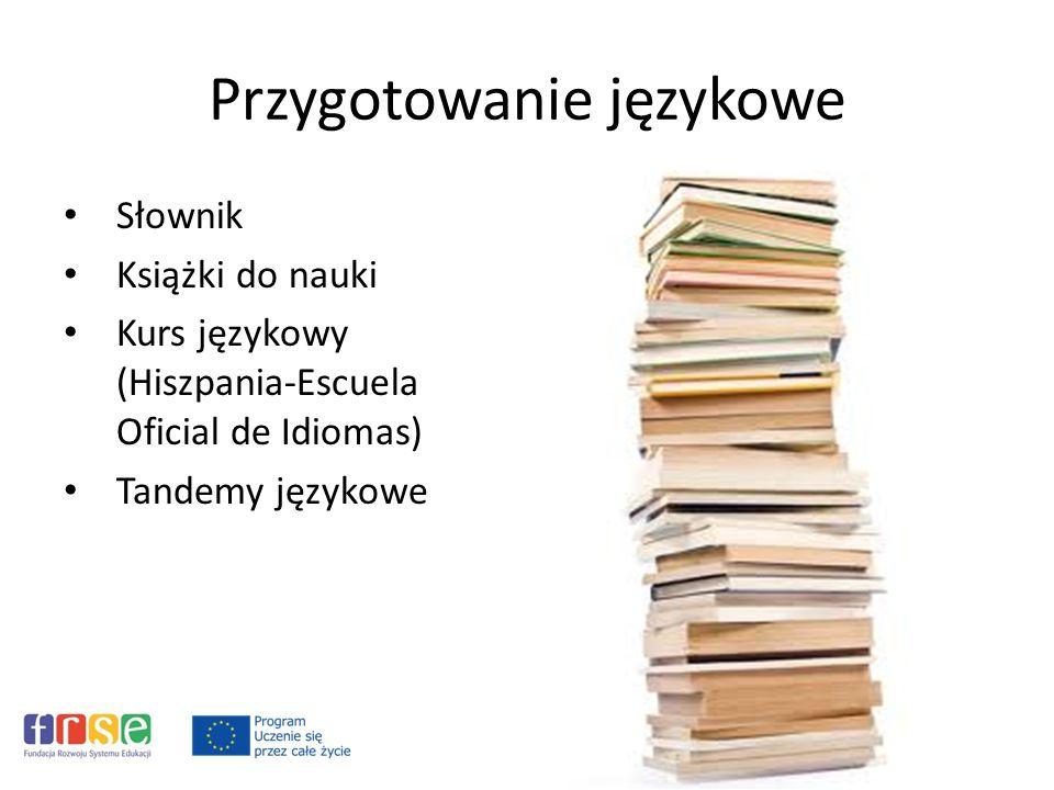 Przygotowanie językowe