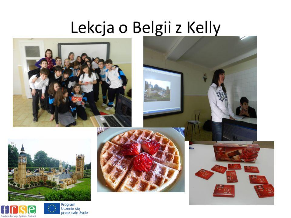 Lekcja o Belgii z Kelly