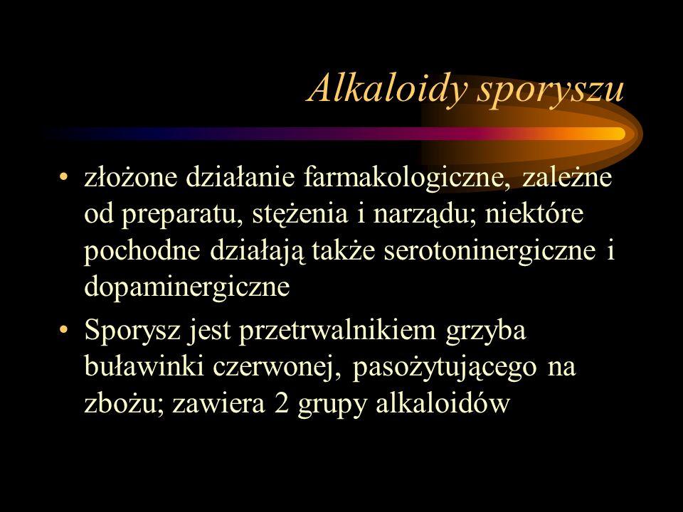 Alkaloidy sporyszu