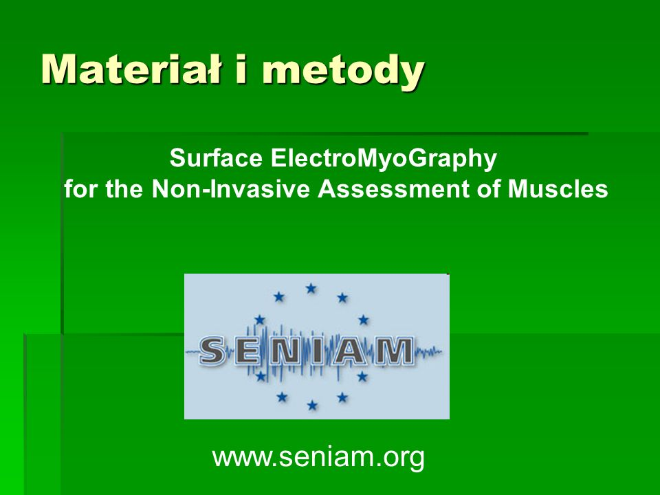 Surface ElectroMyoGraphy for the Non-Invasive Assessment of Muscles