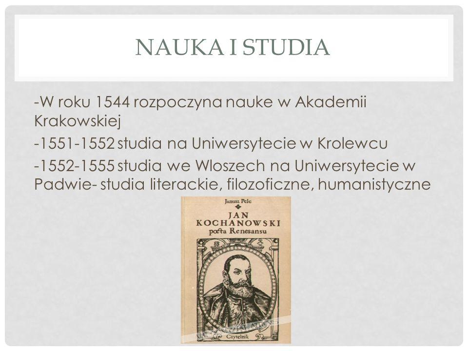 Nauka i studia