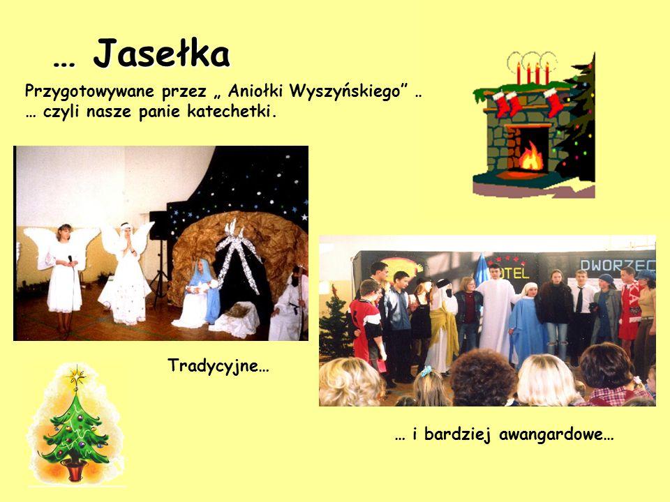 """… Jasełka Przygotowywane przez """" Aniołki Wyszyńskiego …"""