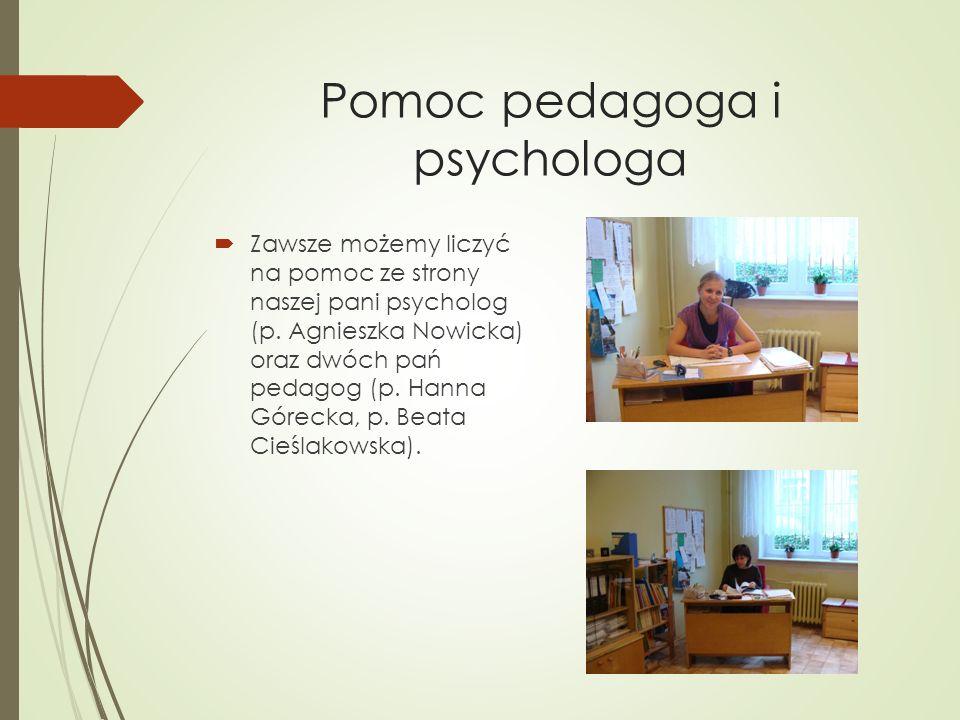 Pomoc pedagoga i psychologa
