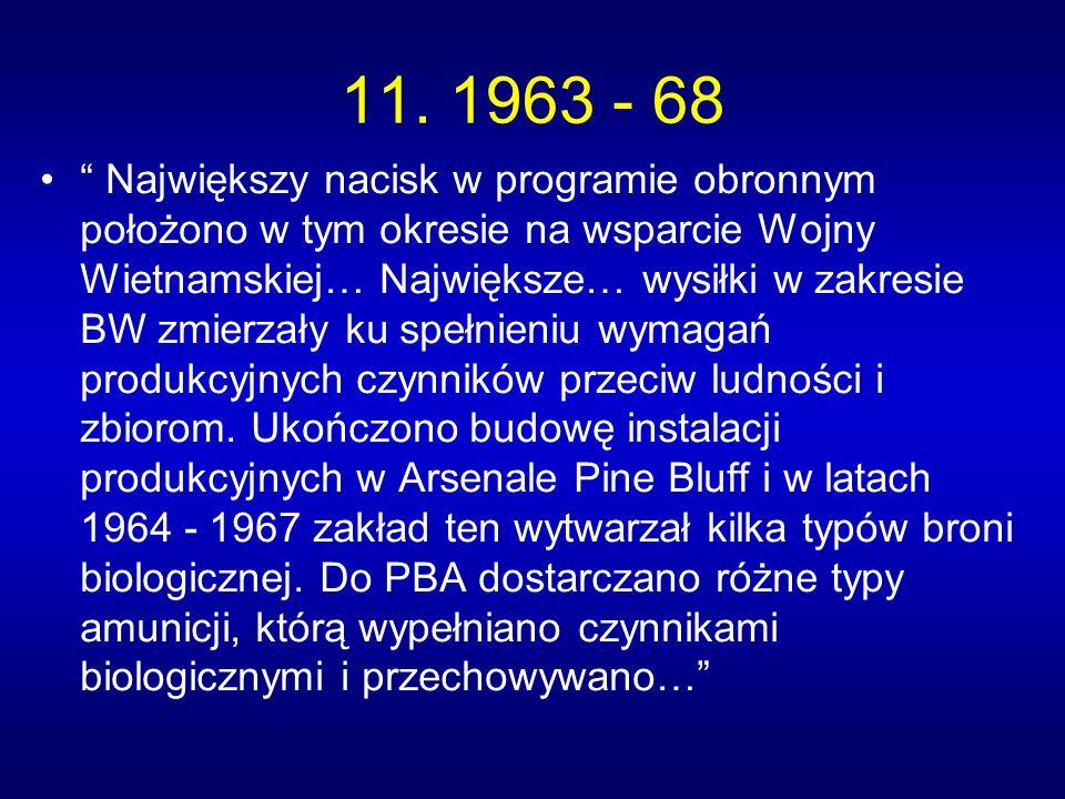 11. 1963 - 68