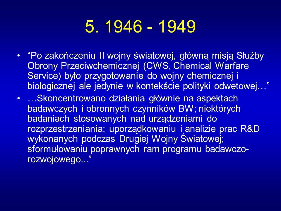 5. 1946 - 1949