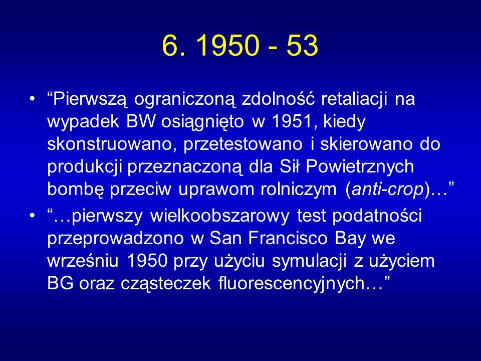 6. 1950 - 53