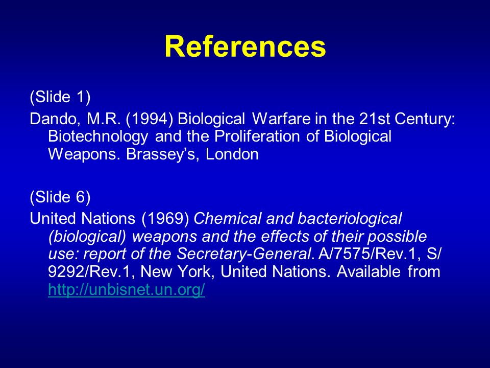 References (Slide 1)