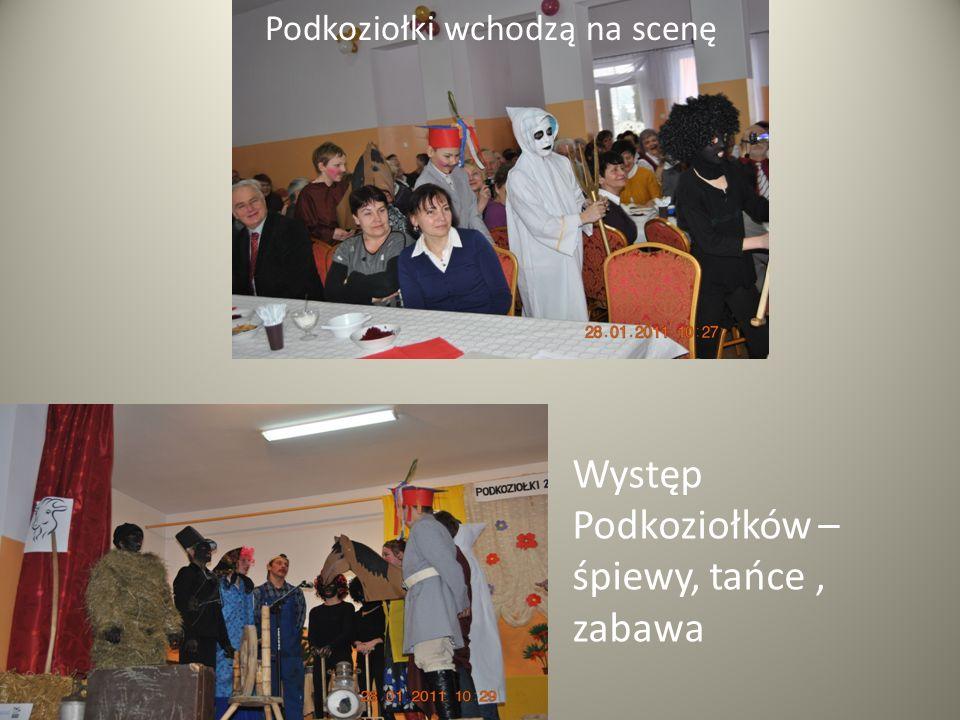 Występ Podkoziołków – śpiewy, tańce , zabawa