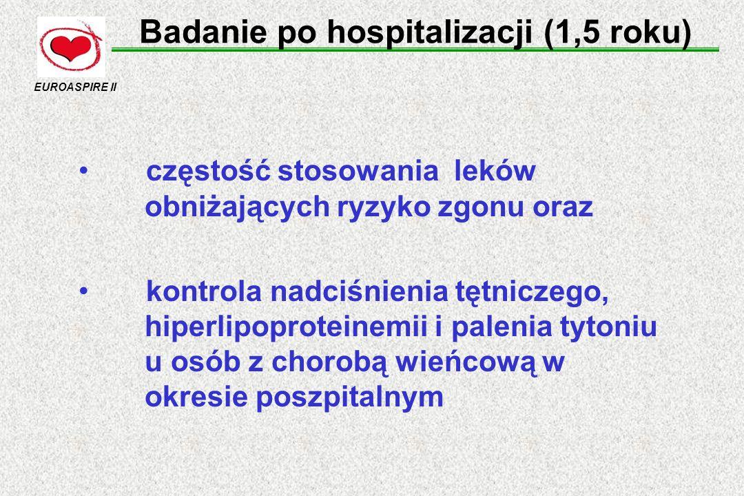 Badanie po hospitalizacji (1,5 roku)