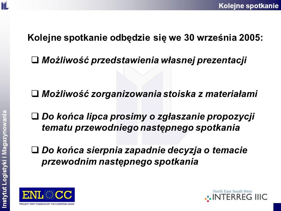Kolejne spotkanie odbędzie się we 30 września 2005:
