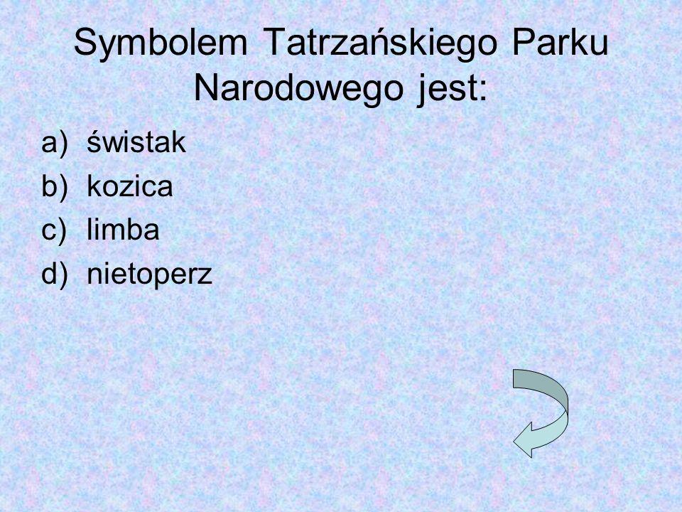 Symbolem Tatrzańskiego Parku Narodowego jest: