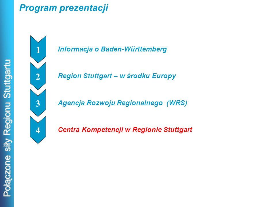 Program prezentacji 1 2 1 3 1 4 1 Informacja o Baden-Württemberg