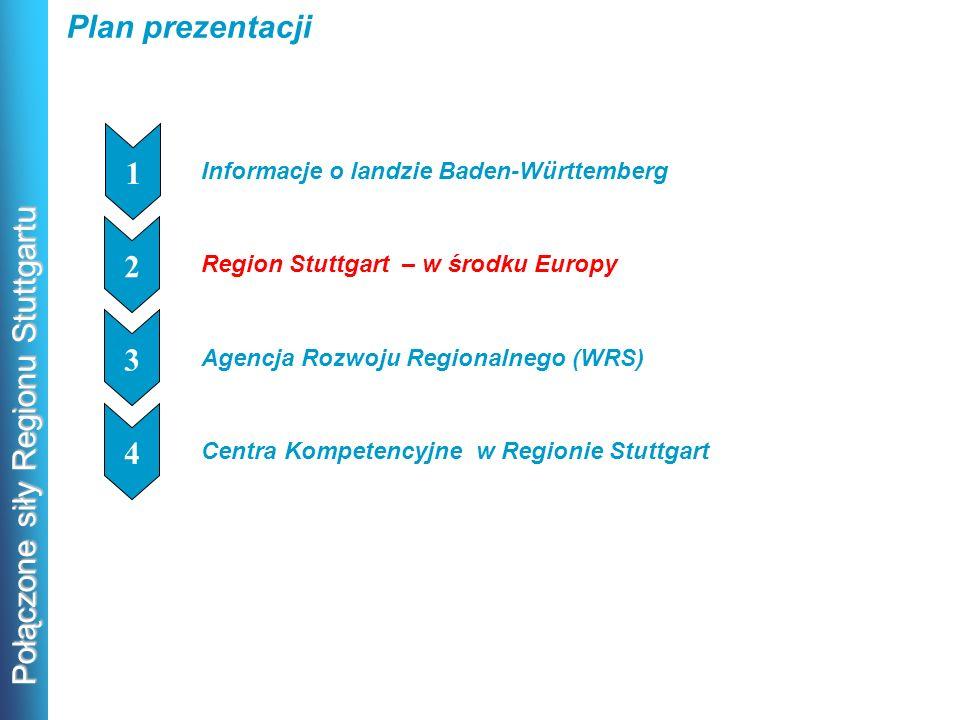 Plan prezentacji 1 2 1 3 1 4 1 Informacje o landzie Baden-Württemberg