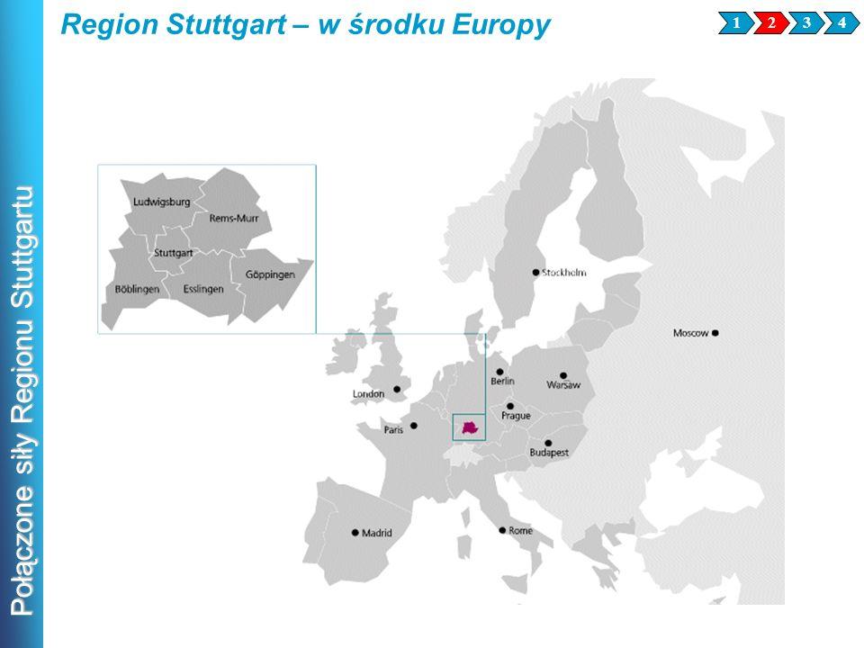 Region Stuttgart – w środku Europy