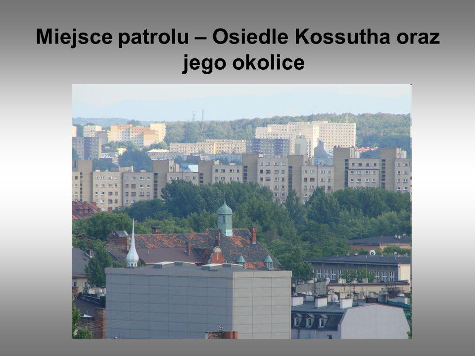 Miejsce patrolu – Osiedle Kossutha oraz jego okolice