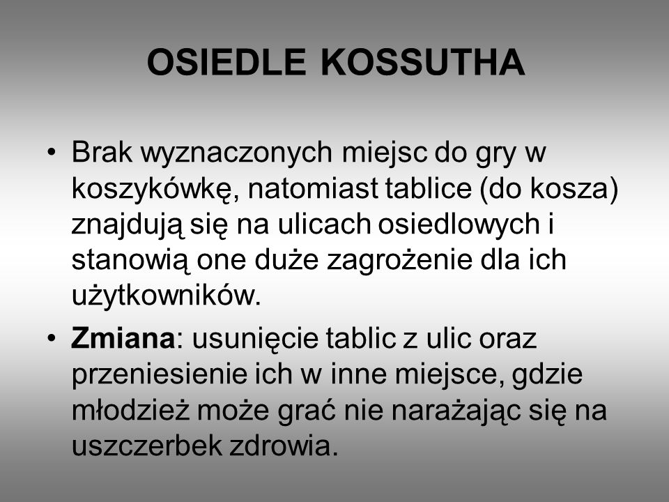 OSIEDLE KOSSUTHA