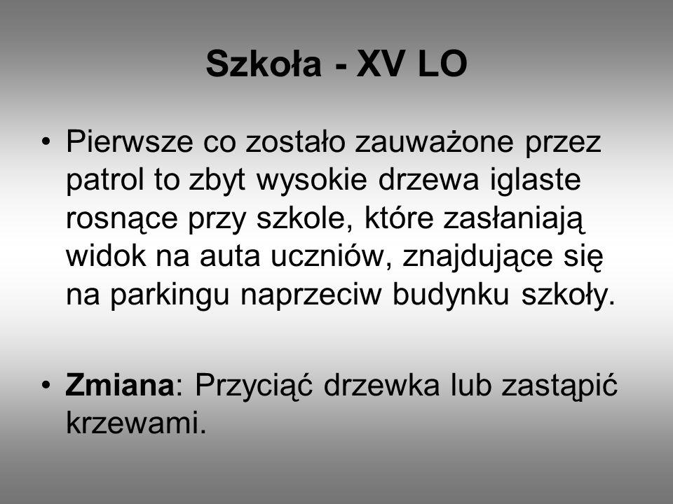 Szkoła - XV LO