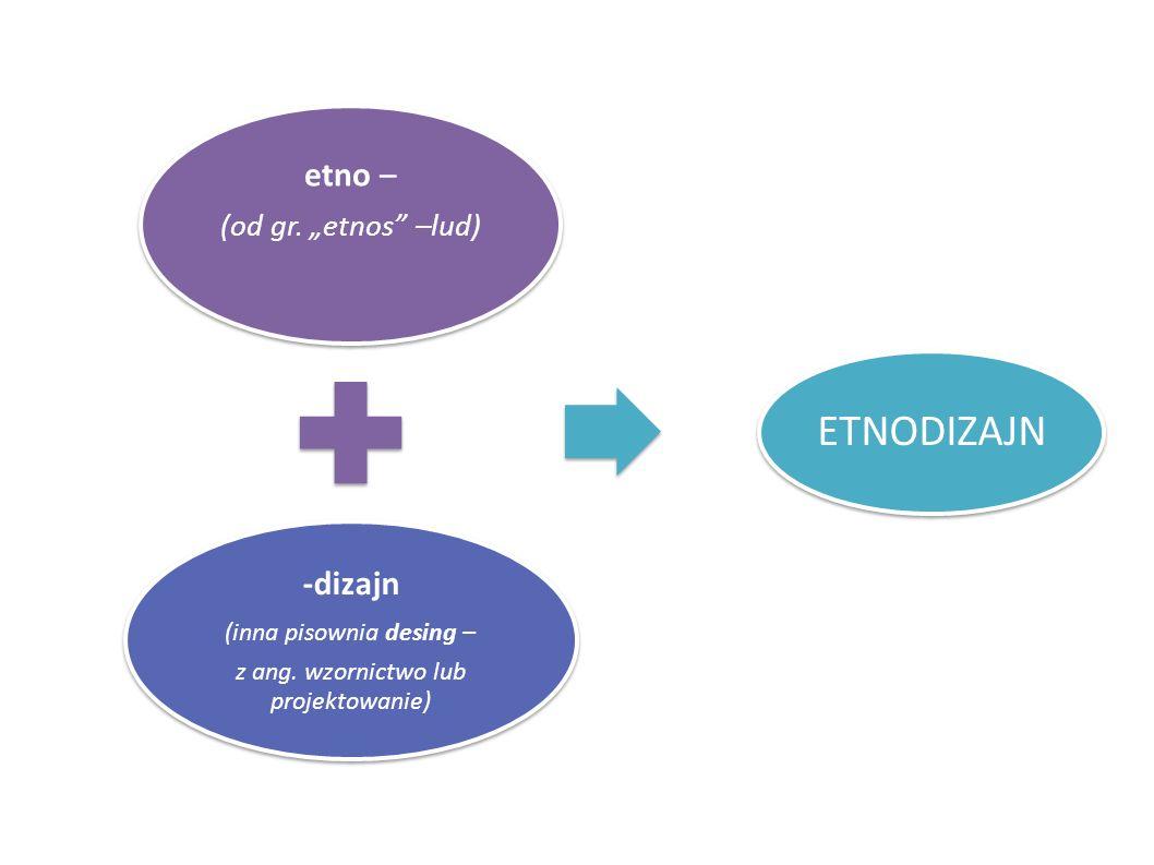 """ETNODIZAJN etno – -dizajn (od gr. """"etnos –lud)"""