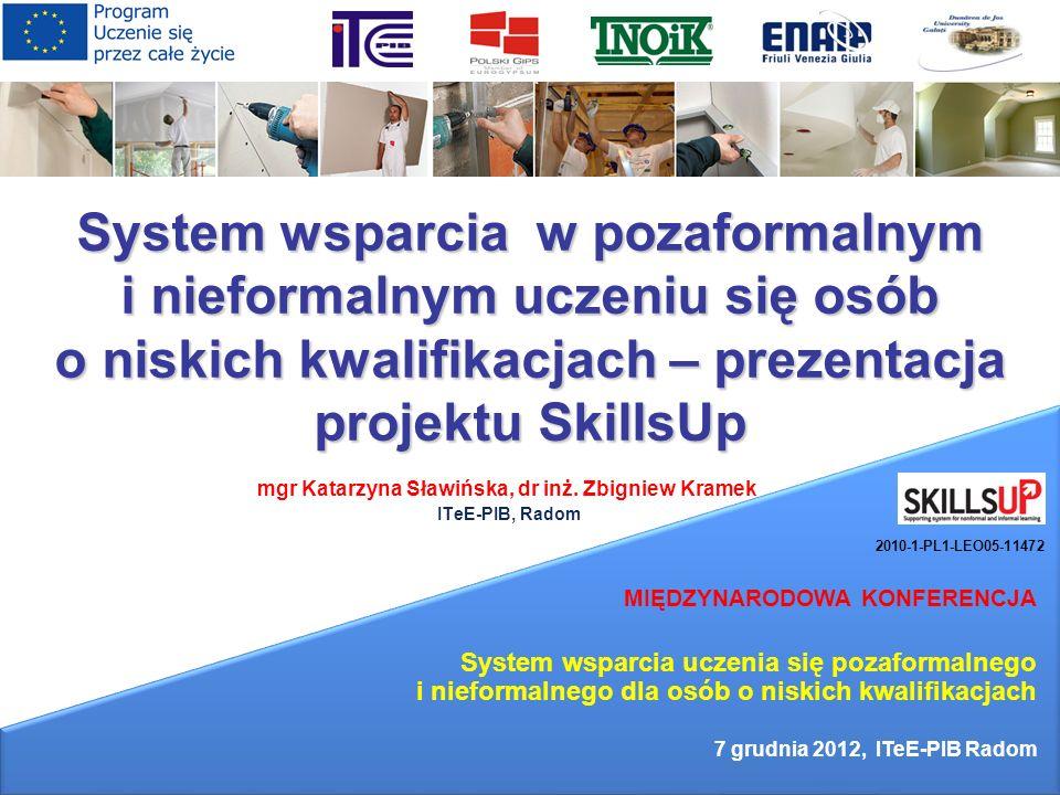 mgr Katarzyna Sławińska, dr inż. Zbigniew Kramek ITeE-PIB, Radom