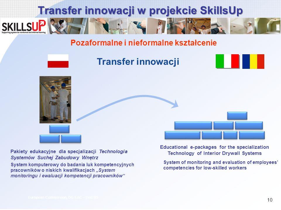 Transfer innowacji w projekcie SkillsUp