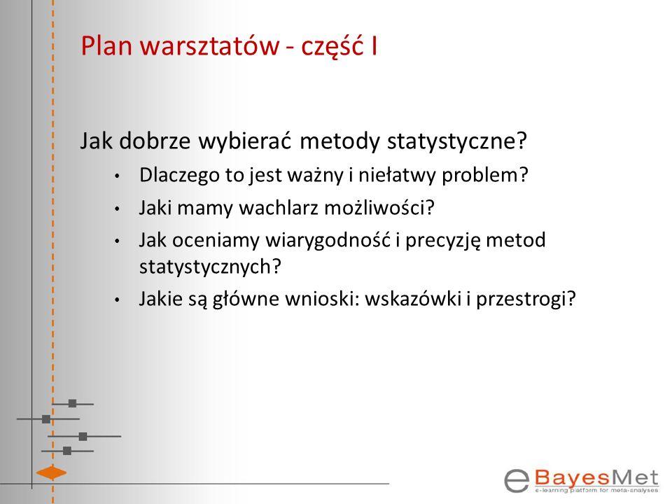 Plan warsztatów - część I