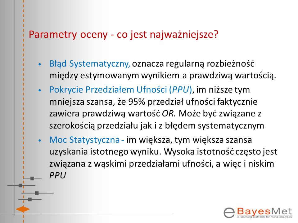 Parametry oceny - co jest najważniejsze