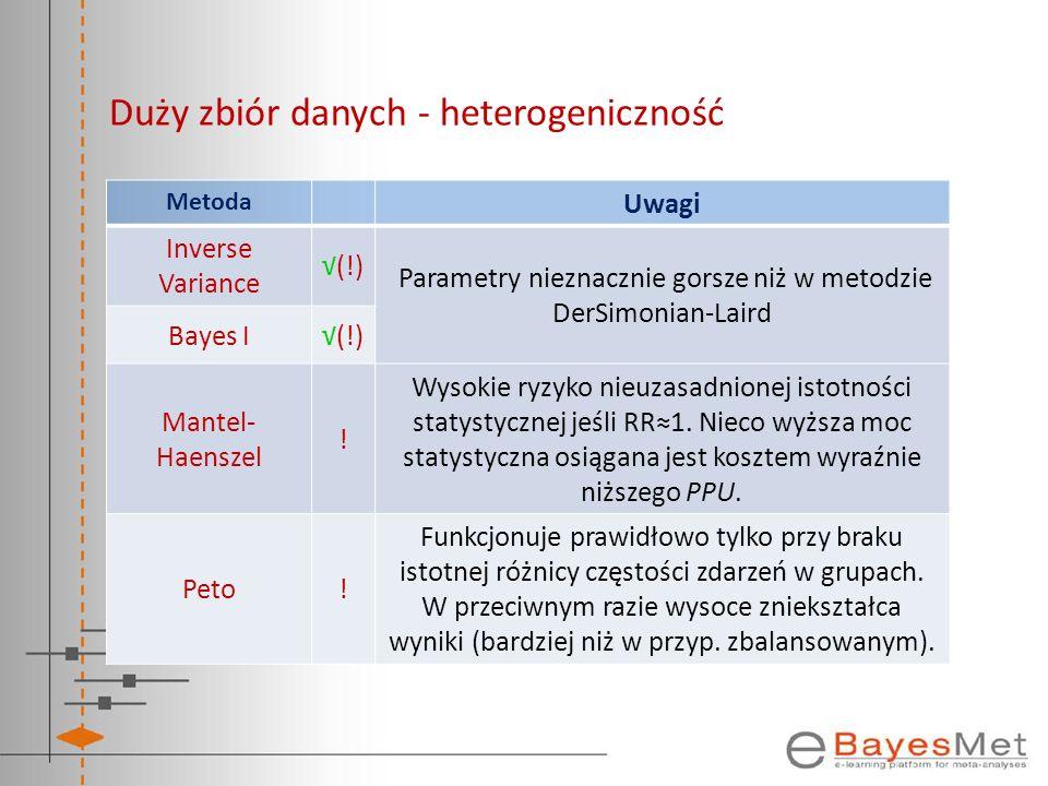 Duży zbiór danych - heterogeniczność