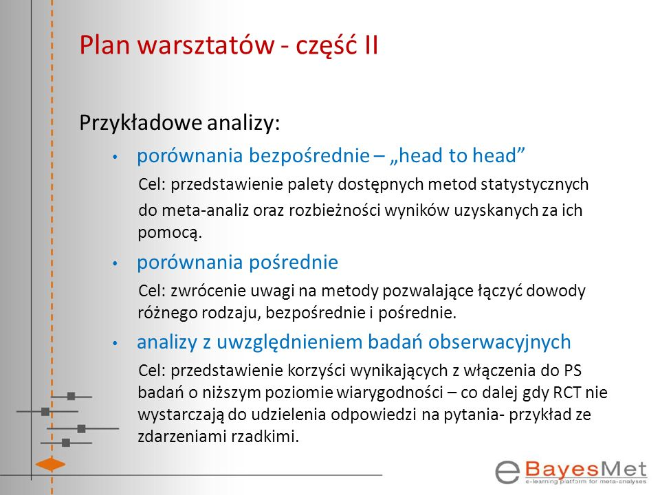 Plan warsztatów - część II