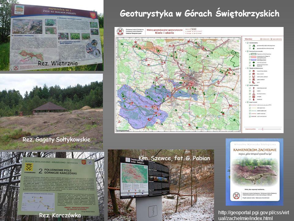 Geoturystyka w Górach Świętokrzyskich