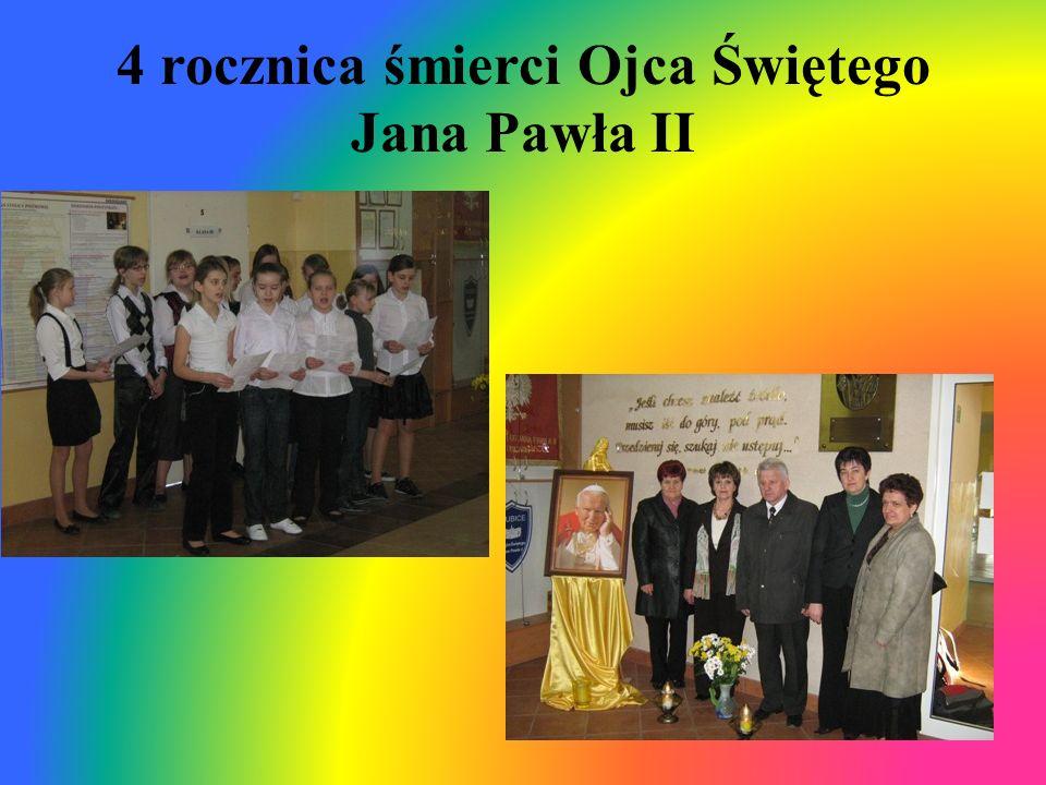 4 rocznica śmierci Ojca Świętego Jana Pawła II