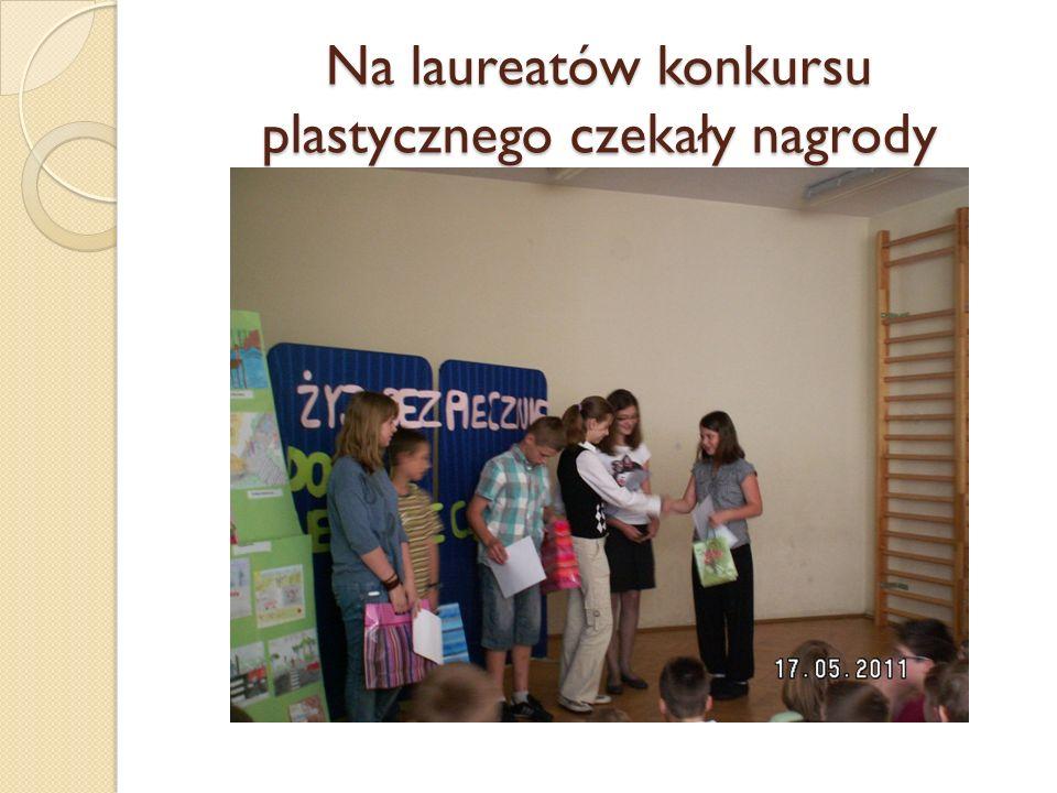 Na laureatów konkursu plastycznego czekały nagrody