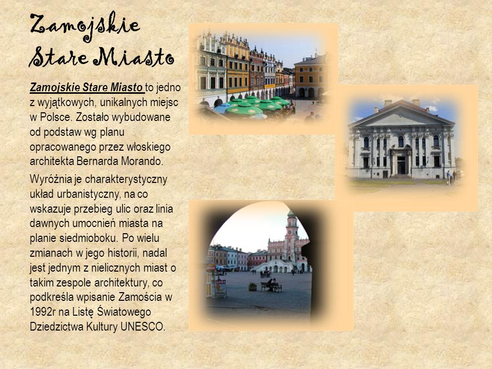 Zamojskie Stare Miasto
