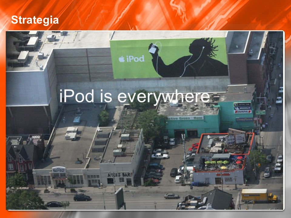 Strategia iPod is everywhere