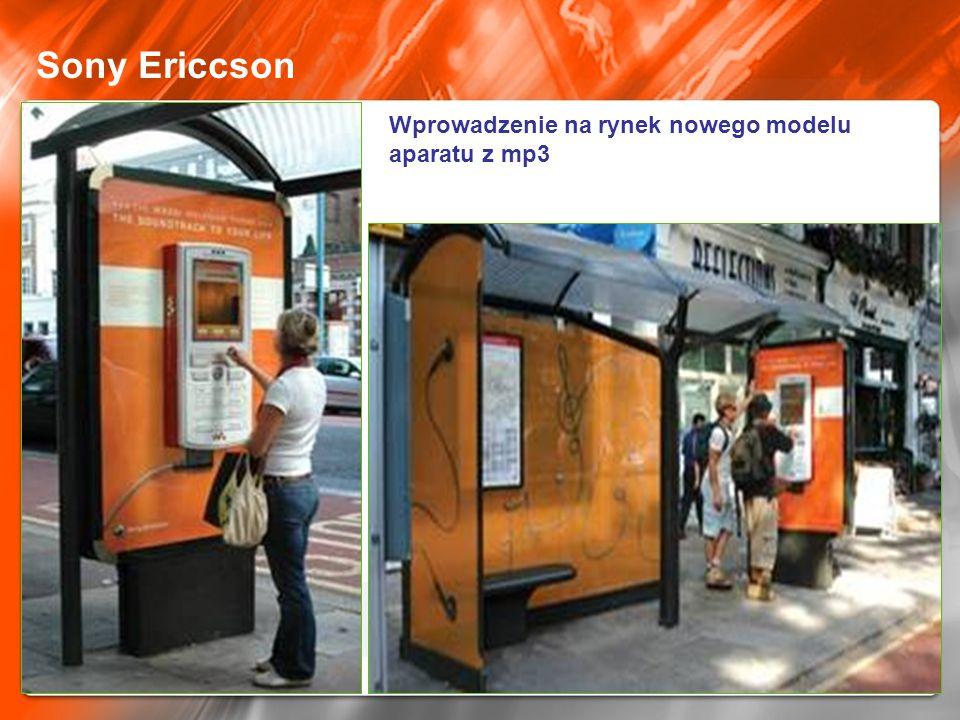 Sony Ericcson Wprowadzenie na rynek nowego modelu aparatu z mp3