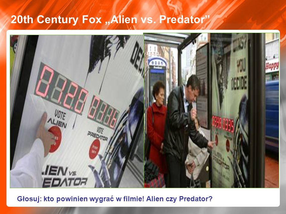 "20th Century Fox ""Alien vs. Predator"