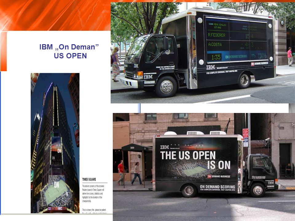 "IBM ""On Deman US OPEN"