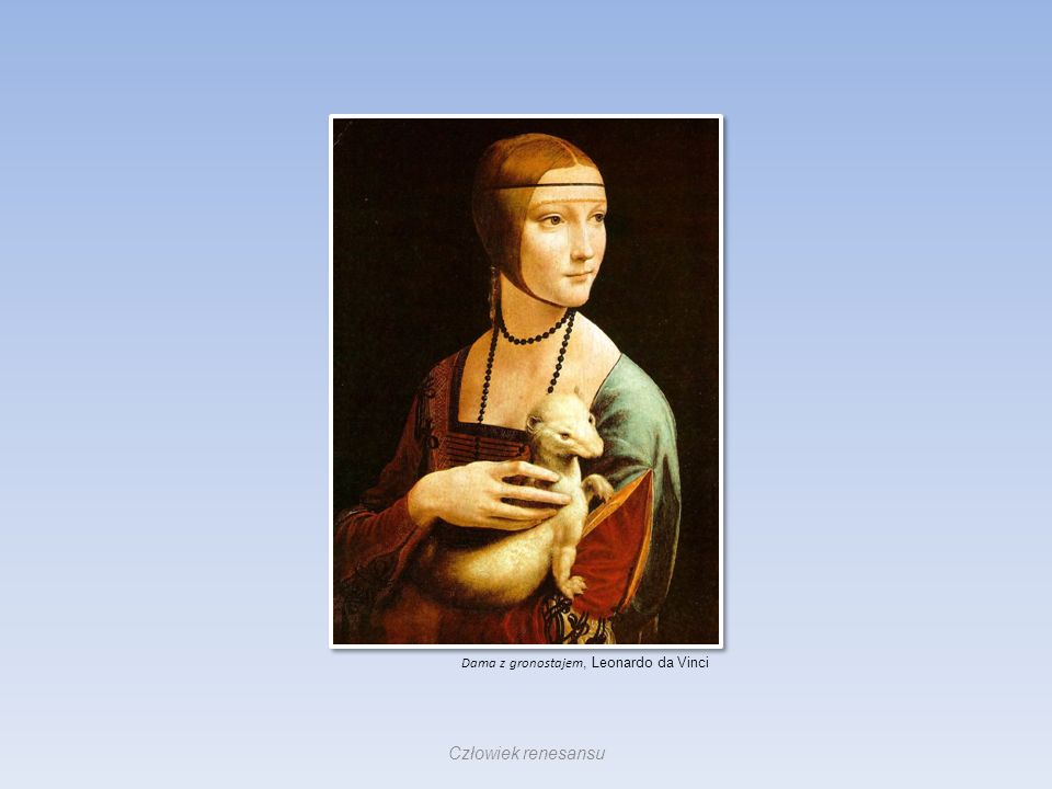 Dama z gronostajem, Leonardo da Vinci