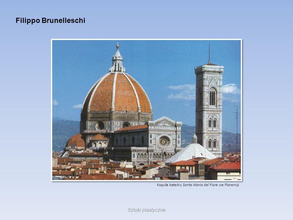 Filippo Brunelleschi Sztuki plastyczne