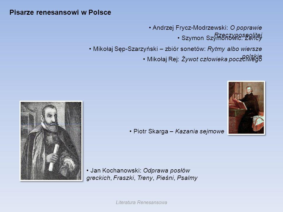 Literatura Renesansowa