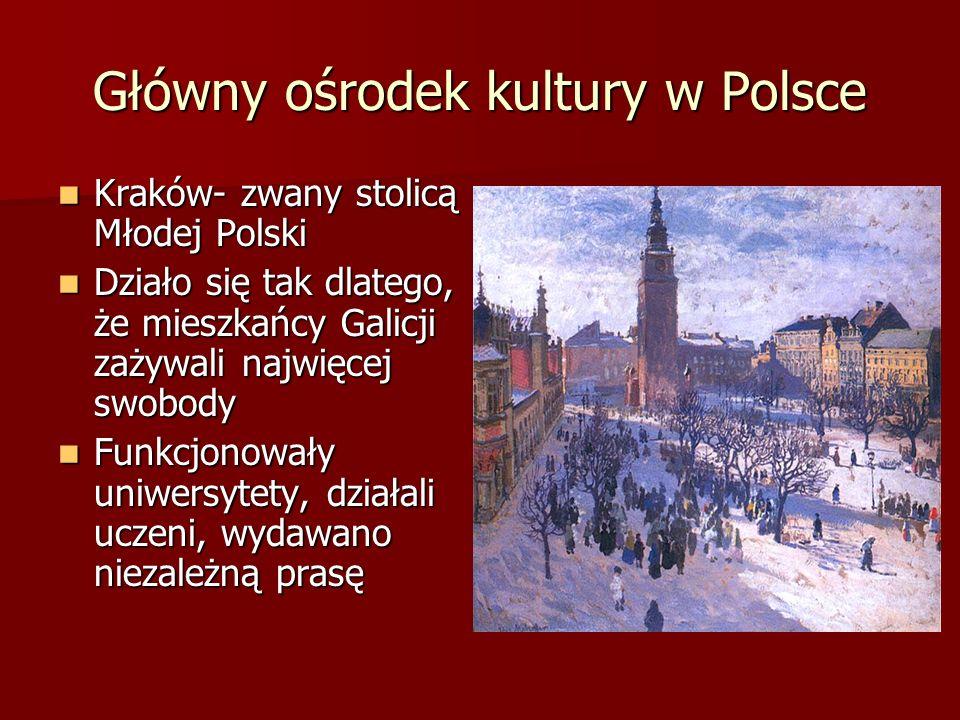 Główny ośrodek kultury w Polsce