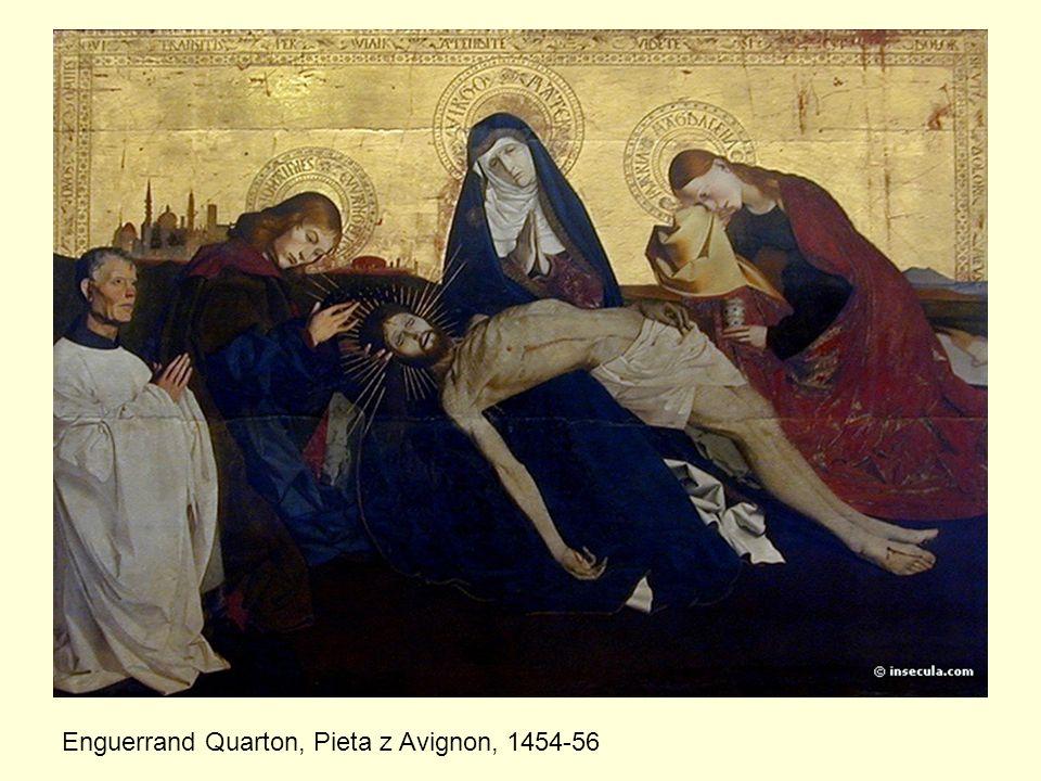 Enguerrand Quarton, Pieta z Avignon, 1454-56