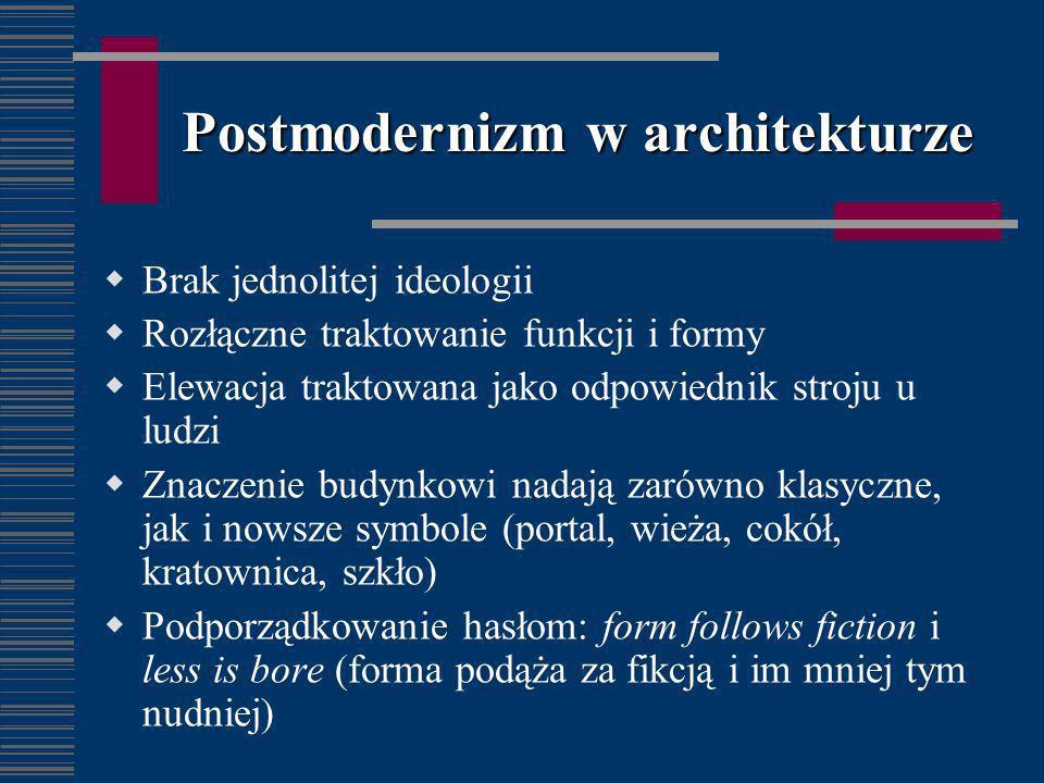 Postmodernizm w architekturze