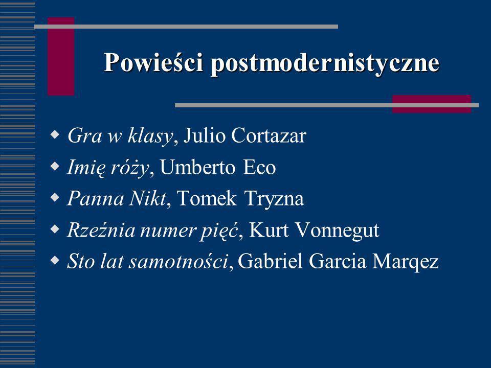 Powieści postmodernistyczne