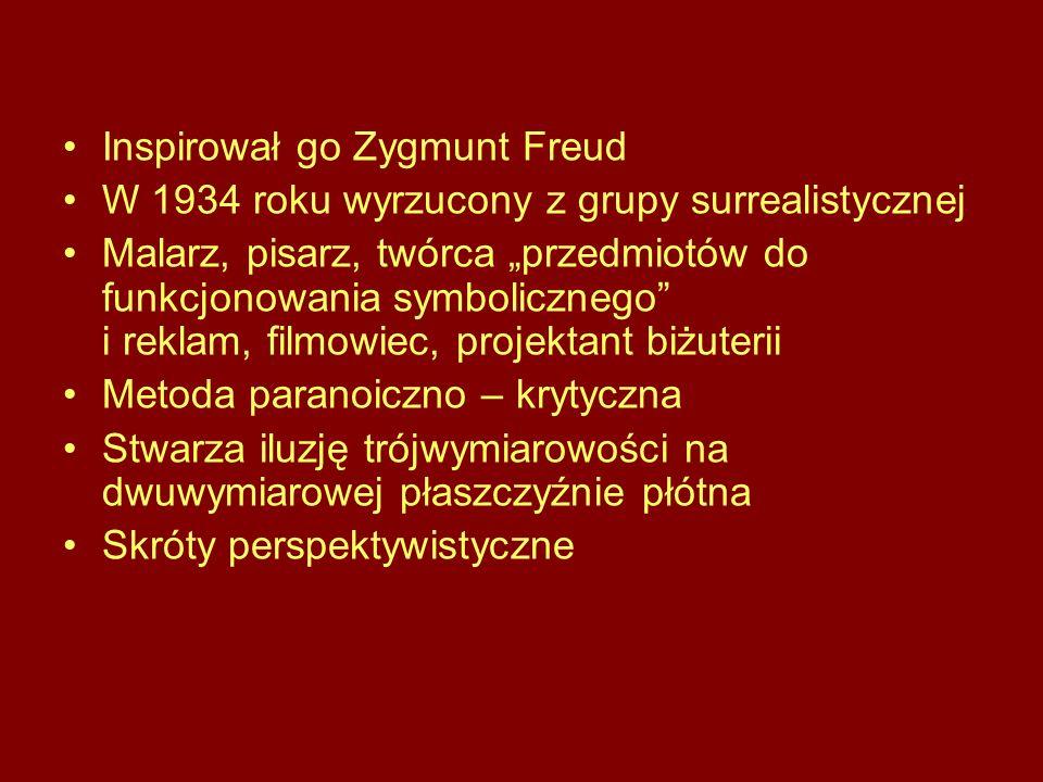 Inspirował go Zygmunt Freud