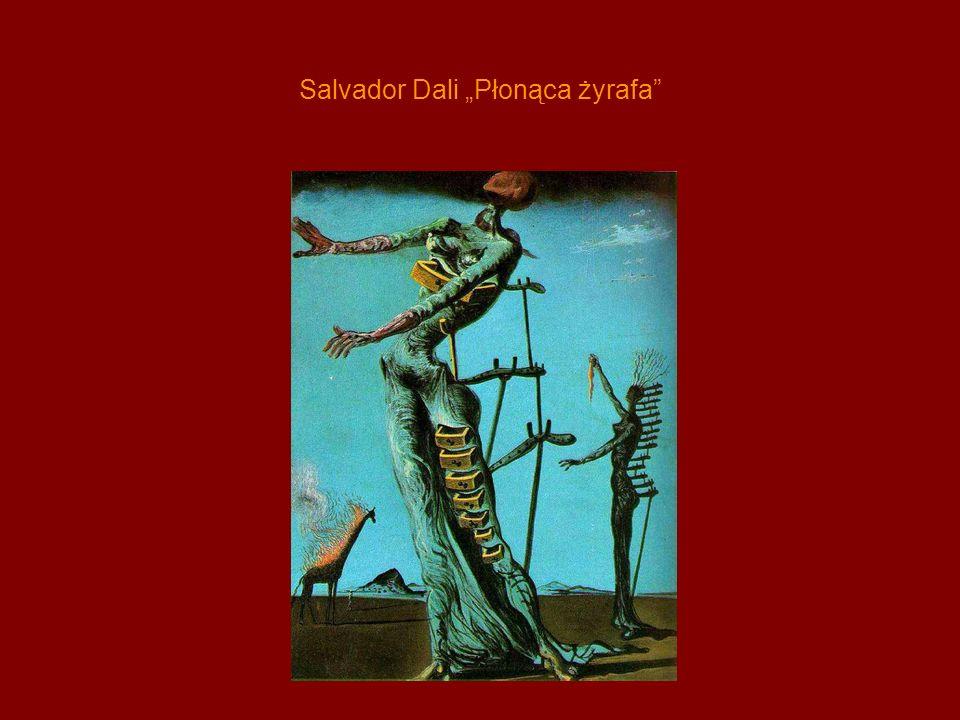 """Salvador Dali """"Płonąca żyrafa"""
