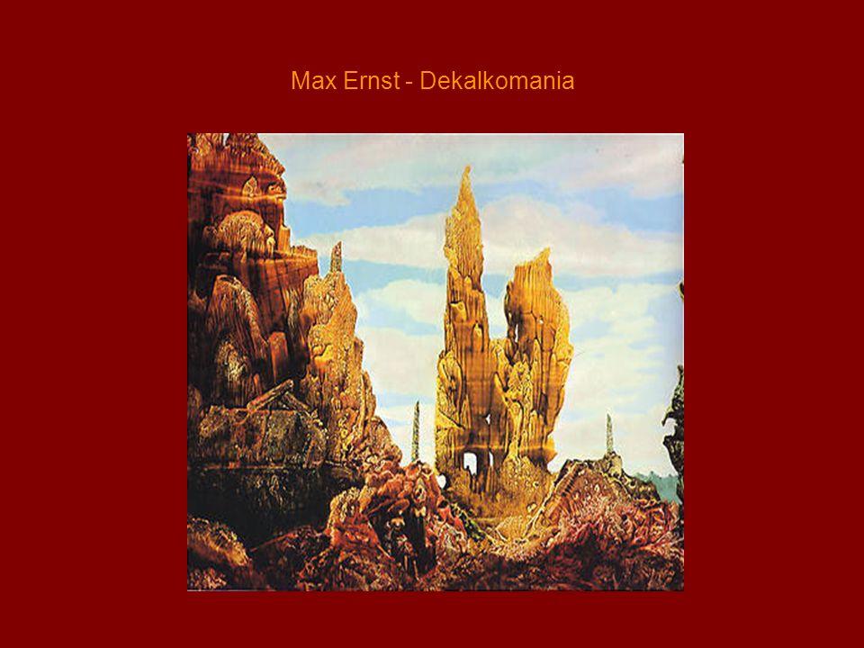Max Ernst - Dekalkomania