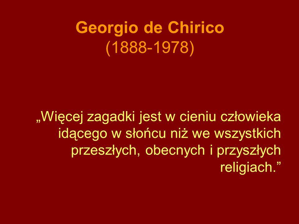 Georgio de Chirico (1888-1978)
